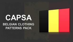 Capsa - Belgian Clothing Patterns Pack
