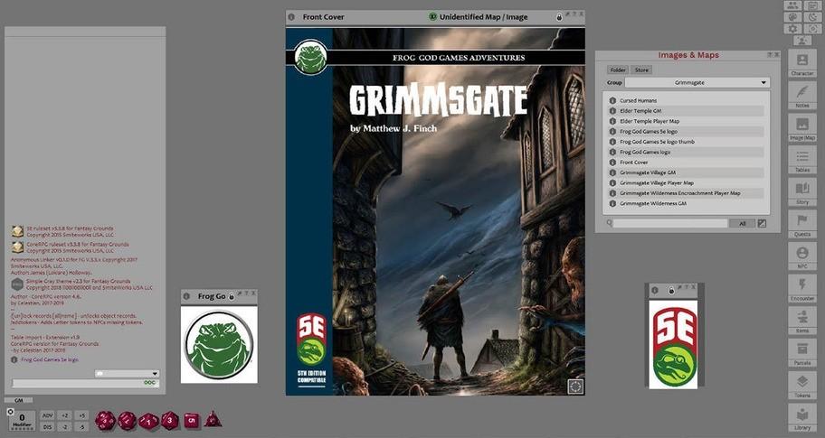 Fantasy Grounds - Grimmsgate (5E)