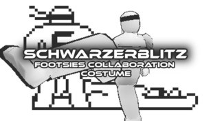 Schwarzerblitz - FOOTSIES Collaboration Costume