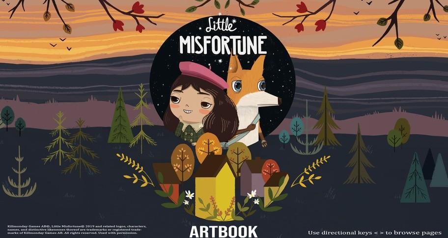 Little Misfortune Official Artbook