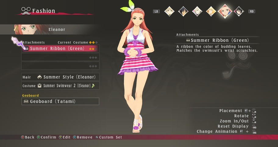 Tales of Berseria - Summer Holiday Costume Pack
