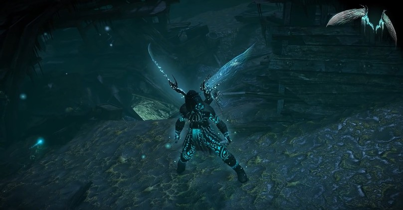 FREE Path of Exile - Dragonfly Wings
