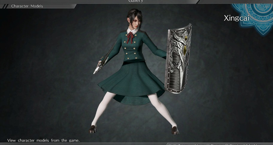 DYNASTY WARRIORS 9: Xingcai (High school girls Costume) / 星彩 「女子高生風コスチューム」