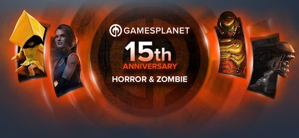 Gamesplanet 15th Anniversary - Horror & Zombie Sale