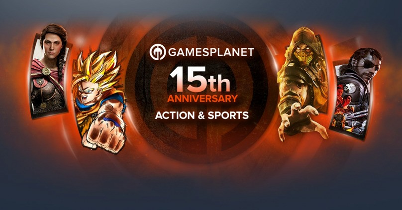 Gamesplanet 15th Anniversary - Action & Sports Sale