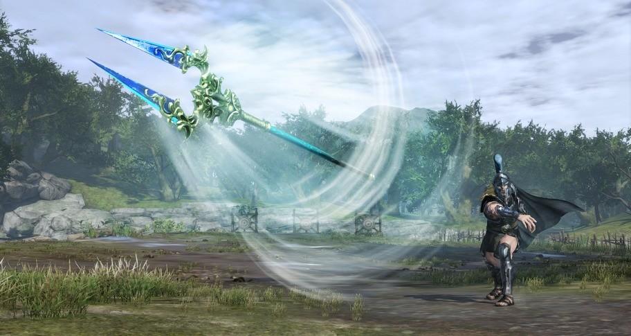 WARRIORS OROCHI 4 Ultimate - Sacred Treasure 'World Tree Bident'