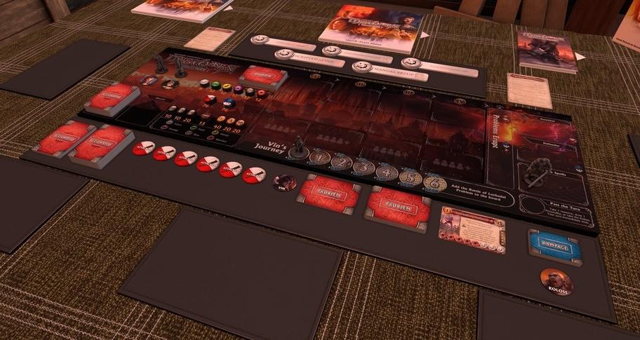 Tabletop Simulator - Mistborn: House War
