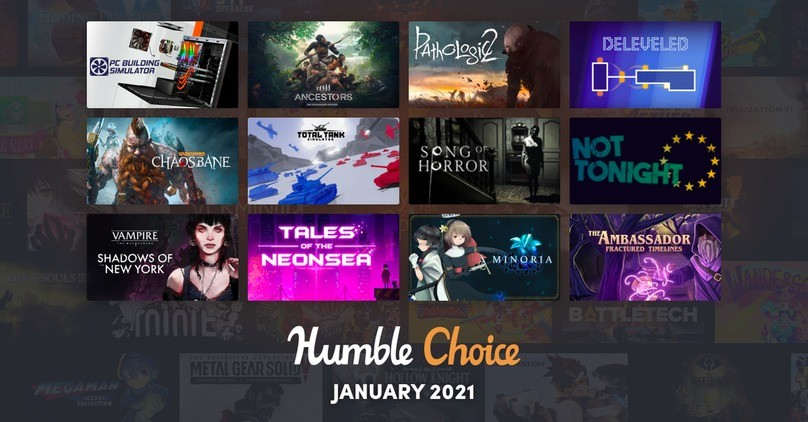 Humble Choice - January 2021