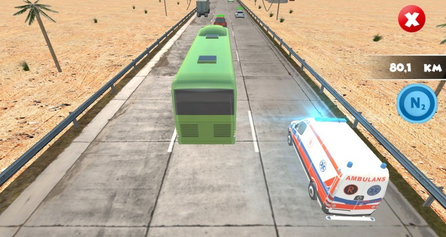 Traffic Racer Crash