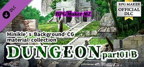 """RPG Maker MZ - Minikle's Background CG Material Collection """"Dungeon"""" part01 B"""