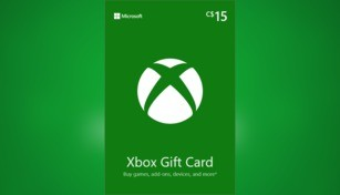Xbox Live Gift Card 15 CAD