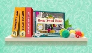 1001 Jigsaw. Home Sweet Home