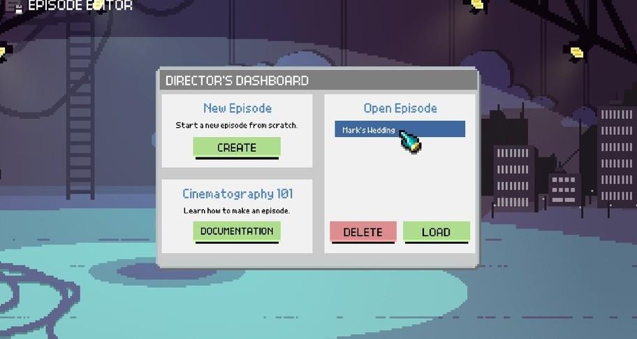 Chroma Squad - Episode Editor