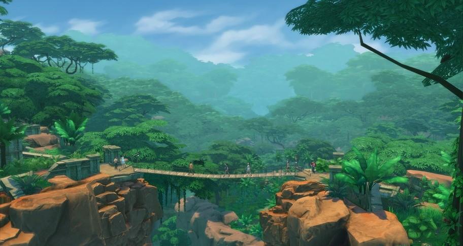 The Sims 4 Jungle Adventure