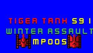 Tiger Tank 59 Ⅰ Winter Assault MP005