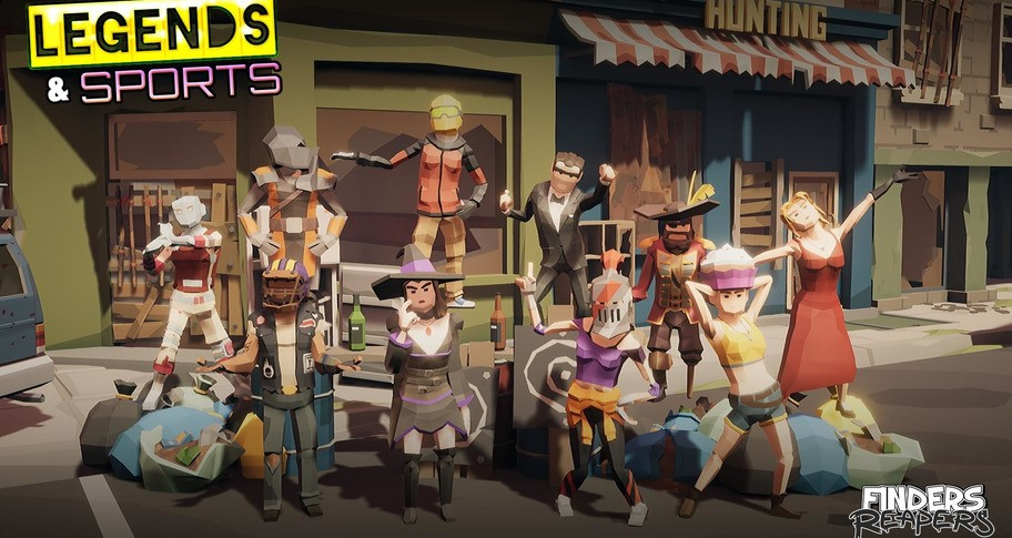 Finders Reapers - Legends & Sports Character Pack