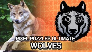 Jigsaw Puzzle Pack - Pixel Puzzles Ultimate: Wolves