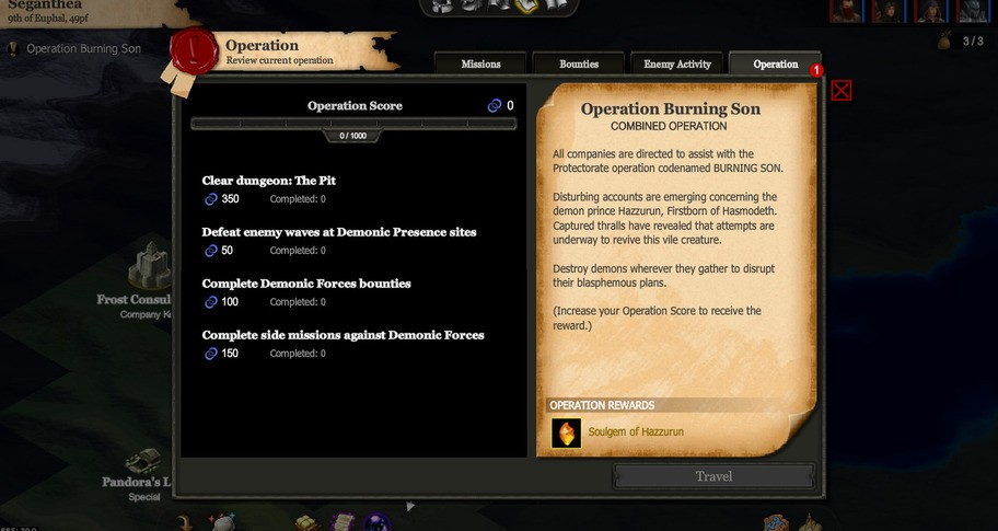 Monsters' Den: Godfall - Protectorate Operations