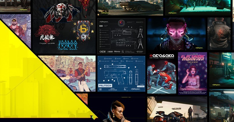 FREE Cyberpunk 2077 Goodies Collection