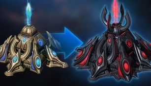 StarCraft II: War Chest 4 Structure Skin Bundles - Protoss Bundle