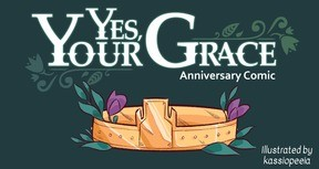 Yes, Your Grace - Anniversary Comic
