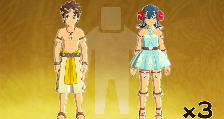 Monster Hunter Stories 2: Wings of Ruin - Character Edit Ticket Three-Pack