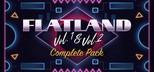 Flatland Vol.1 & 2 Complete Pack