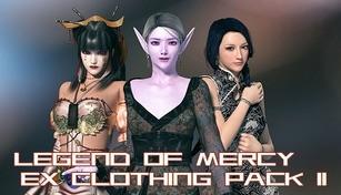 Legend Of Mercy EX clothing pack II 神医魔导特典服饰包 II