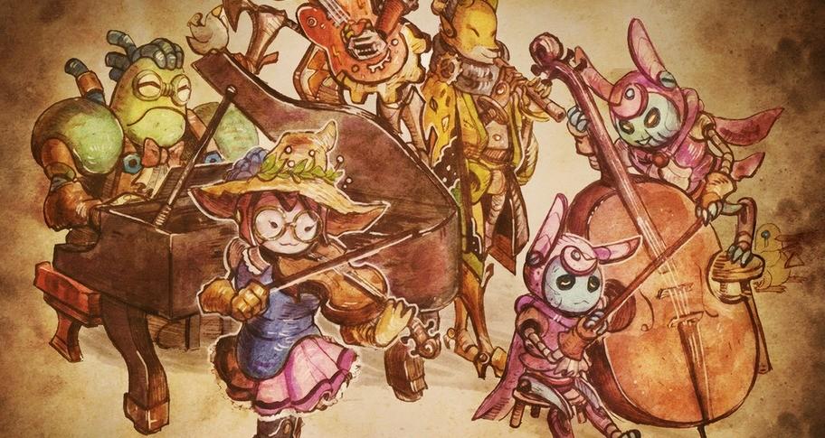 SteamWorld Quest: Hand of Gilgamech - Soundtrack