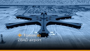 Tower!3D - ZBAD airport