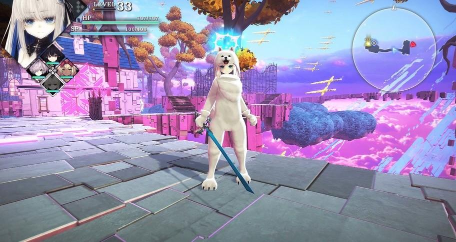 Crystar - Rei's Mascot Costume