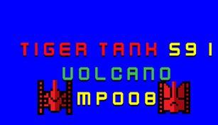 Tiger Tank 59 Ⅰ Volcano MP008