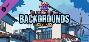 RPG Maker MZ - The Japan Collection - Backgrounds