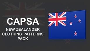 Capsa - New Zealander Clothing Patterns Pack