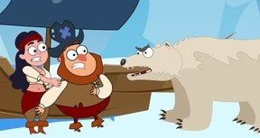 Save the Pirate: Ice age