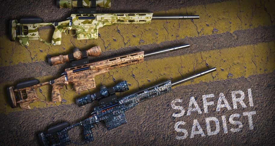 Sniper Ghost Warrior Contracts 2 - Safari Sadist Skin Pack