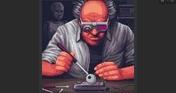 Coloring Game 4 - Cyberpunk