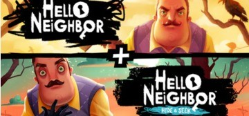 Hello Neighbor + Hello Neighbor Hide and Seek Collection