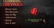Guardians of Greyrock - Dice Pack: Precious Metal Set