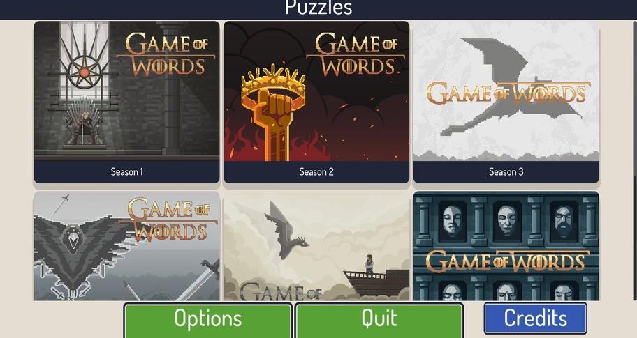 Geekwords : Game of Words
