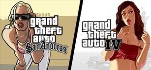 Grand Theft Auto IV + Grand Theft Auto: San Andreas
