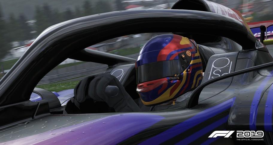 F1 2019: Helmet 'Striker'