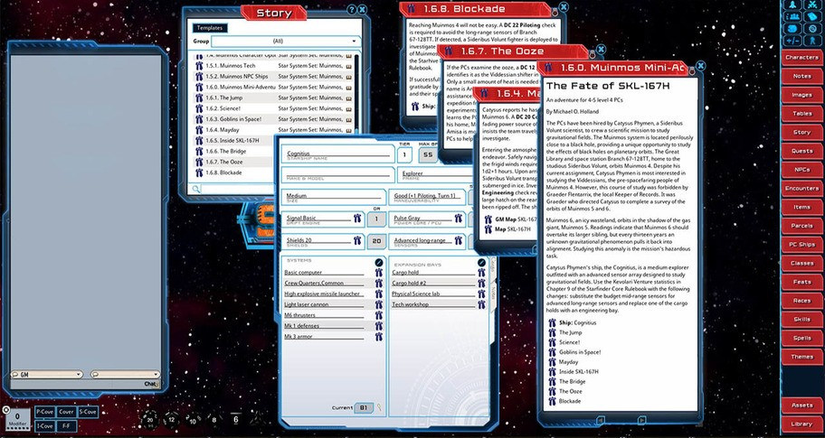 Fantasy Grounds - Star System Set: Muinmos (FULL SET)