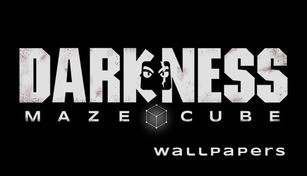 Darkness Maze Cube - Wallpaper