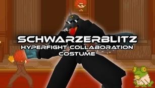 Schwarzerblitz - HYPERFIGHT Collaboration Costume