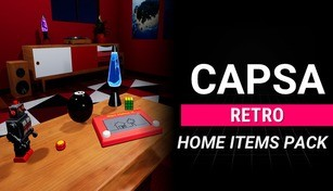 Capsa - Retro Home Items Pack