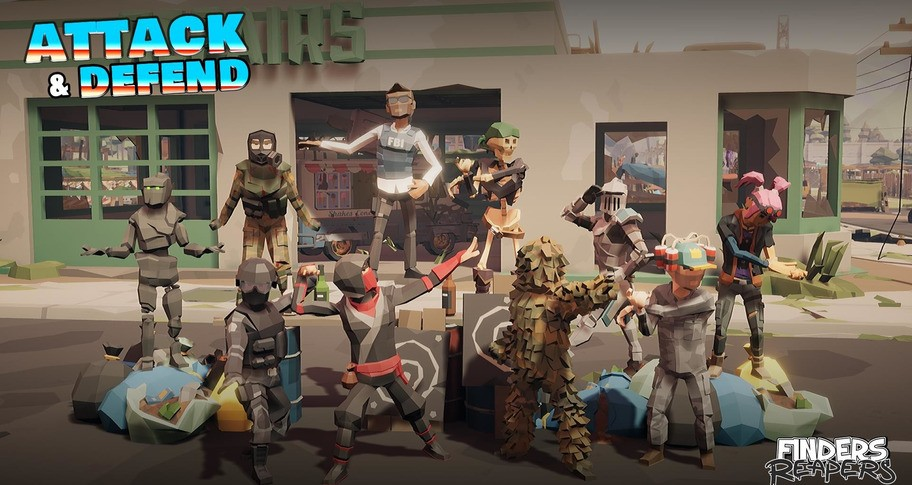 Finders Reapers - Attack & Defend Character Pack