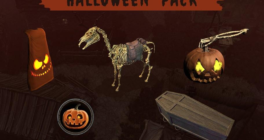 Wild Terra 2 - Halloween Pack
