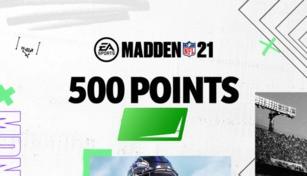 MADDEN NFL 21 - 500 Madden Points