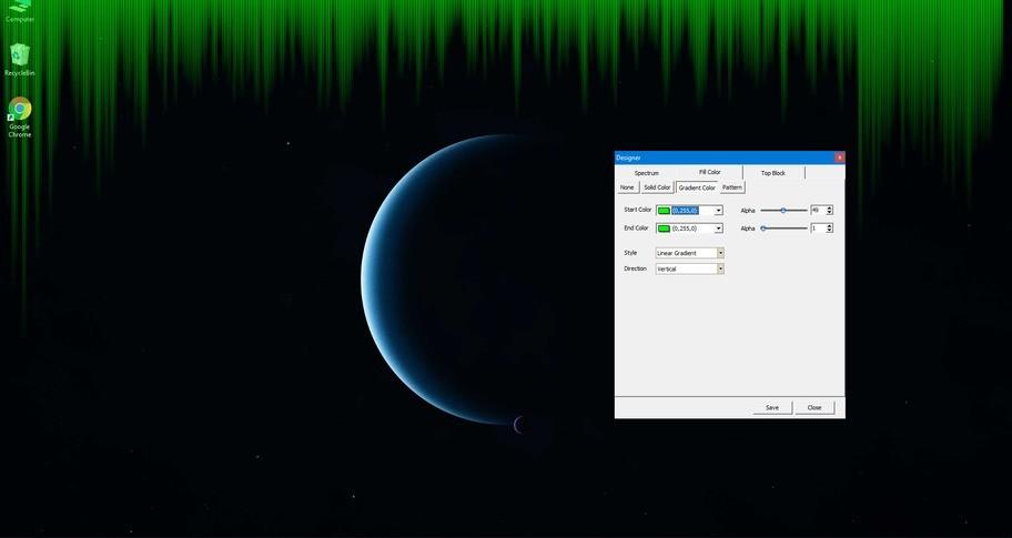 Desktop Audio Visualizer
